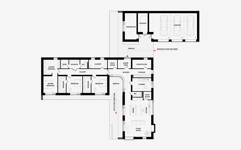 floor loom diagram